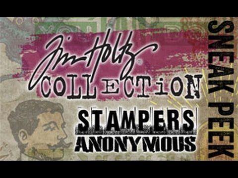 2017 sneak peek - stampers anonymous... - YouTube