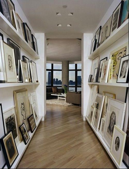 Gallery: Wall Art, Photos Galleries, Wall Spaces, Galleries Wall, Art Display, Display Art, Pictures Frames, Art Wall, Hallways Art