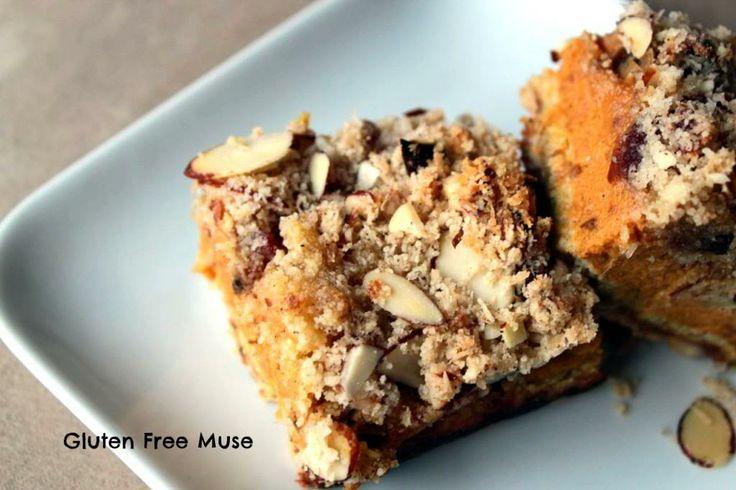 Paleo Pumpkin Pie Bars | Healthy is good | Pinterest