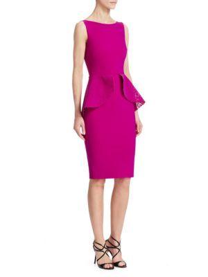 4a7ecb3d8f43f CHIARA BONI LA PETITE ROBE Sleeveless Peplum Dress.  chiarabonilapetiterobe   cloth