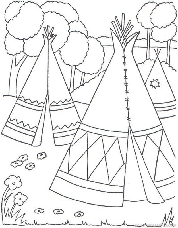 Download or print this amazing coloring page: Native