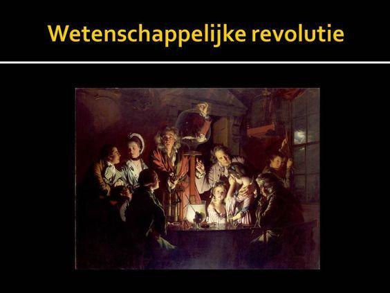 De wetenschappelijke revolutie is een bepaalde periode in de geschiedenis waarin de mensen steeds meer wetenschappelijk gaan denken en de oude,religieuze ideeën verdwijnen. Het begin van deze revolutie wordt door veel mensen in 1543 gelegd.