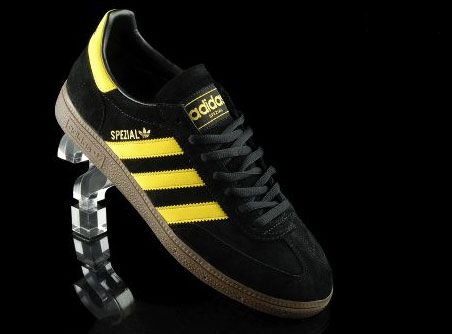1970s Adidas Spezial trainers are back in black and yellow