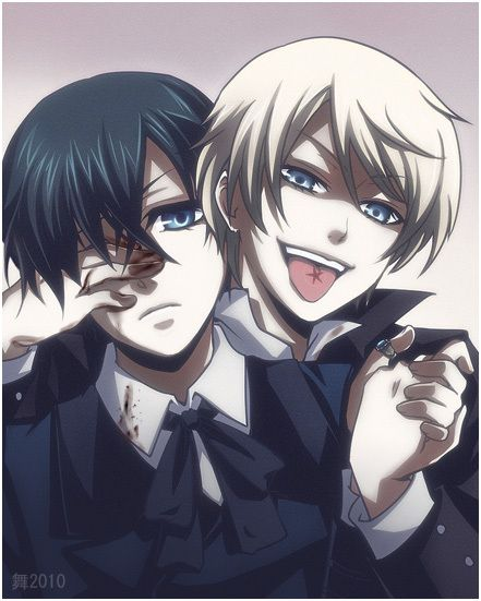 Is it bad that I kind of hoped they would somehow be friends? Ciel x Alois #kuroshitsuji