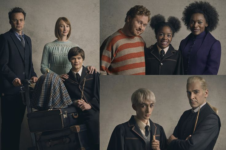 The new West End cast of Harry Potter and the Cursed Child have been transformed into their characters in a newly released set of portraits by Charlie Gray. Seen in their wizarding world finest for the first time are Jamie Glover as Harry Potter, Emma Lowndes as Ginny Potter and Theo Ancient as their youngest …