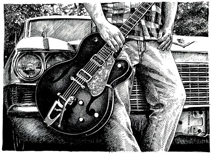 My Guitar by BugRogers 2013