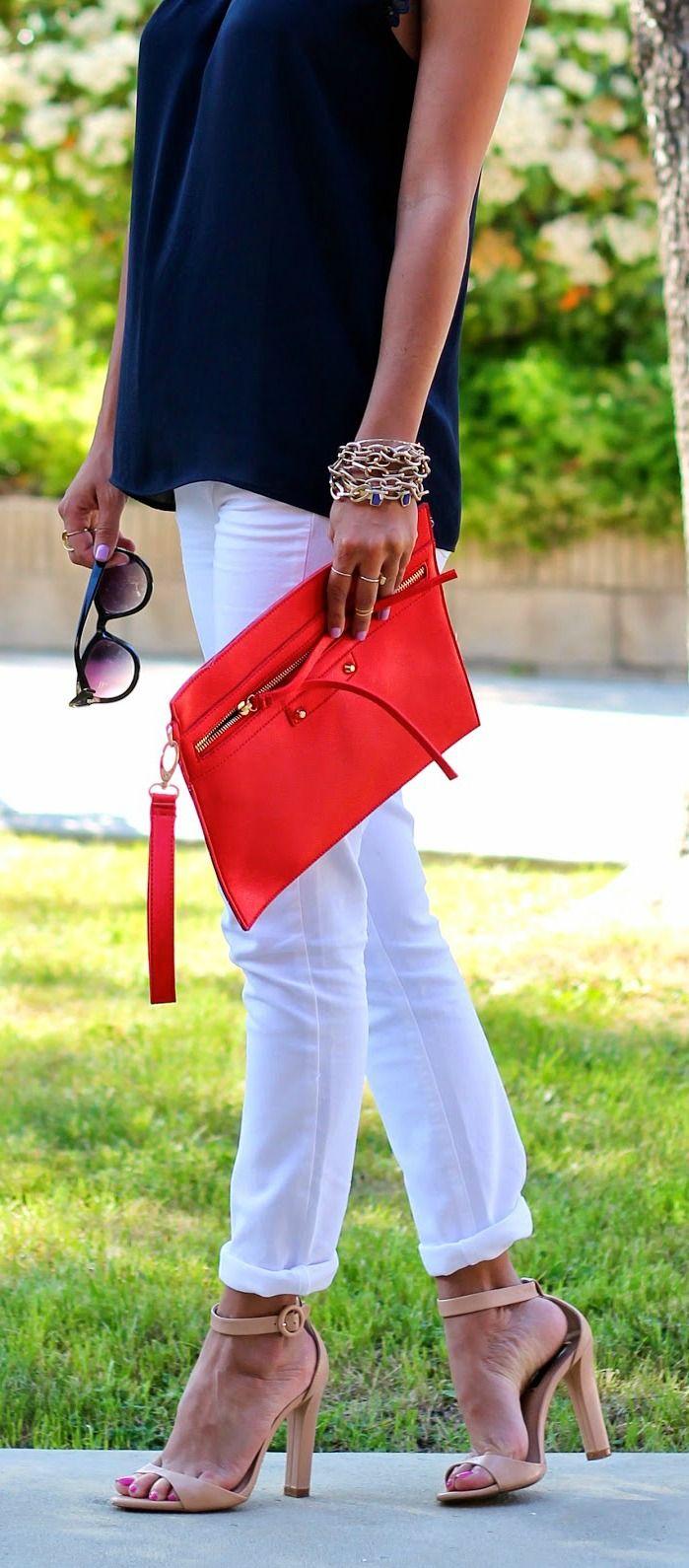 Red, White + Navy