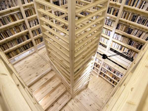 RINTALA EGGERTSSON ARCHITECTS : ark booktower