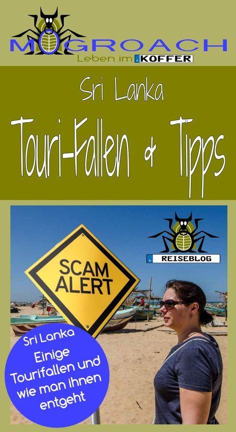 Touri-Fallen in Sri Lanka & Tipps