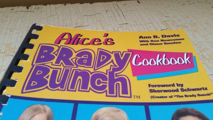 Alice's Brady Bunch Cookbook Ann B. Davis 1994 by GladStoneatHome on Etsy