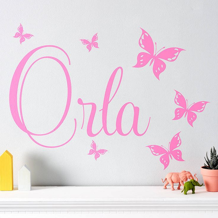 A Stylish And Chic Personalised Wall Sticker That Is Perfect For Your  Childu0027s Bedroom, Nursery Part 85