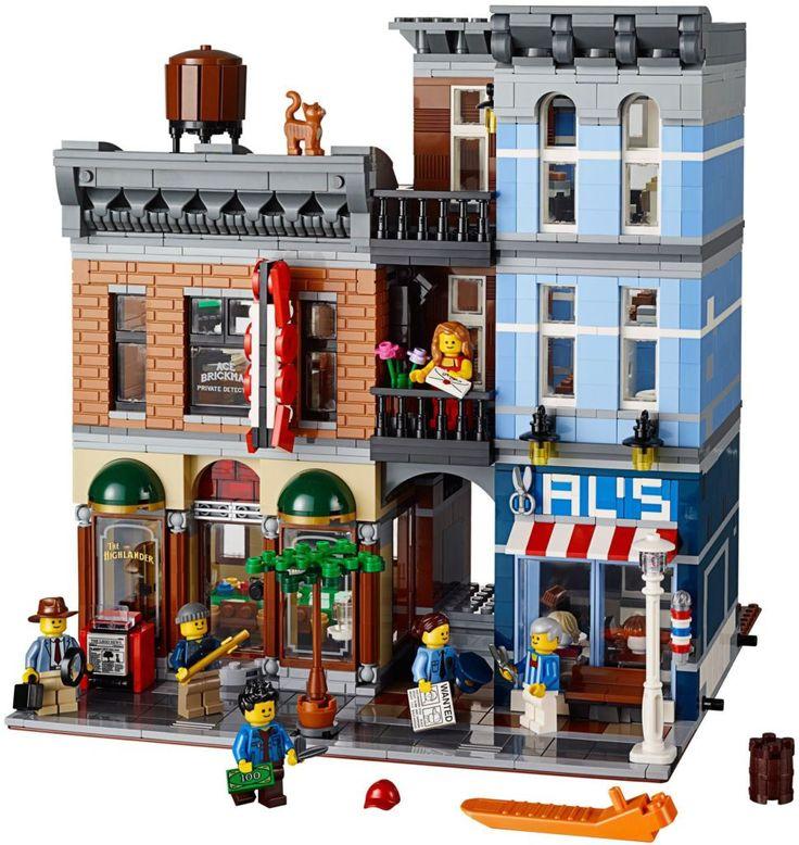 LEGO 10246 Detectives Office: Bekijk de volledige LEGO set op: https://www.olgo.nl/lego-creator-detective-s-office-10246.html