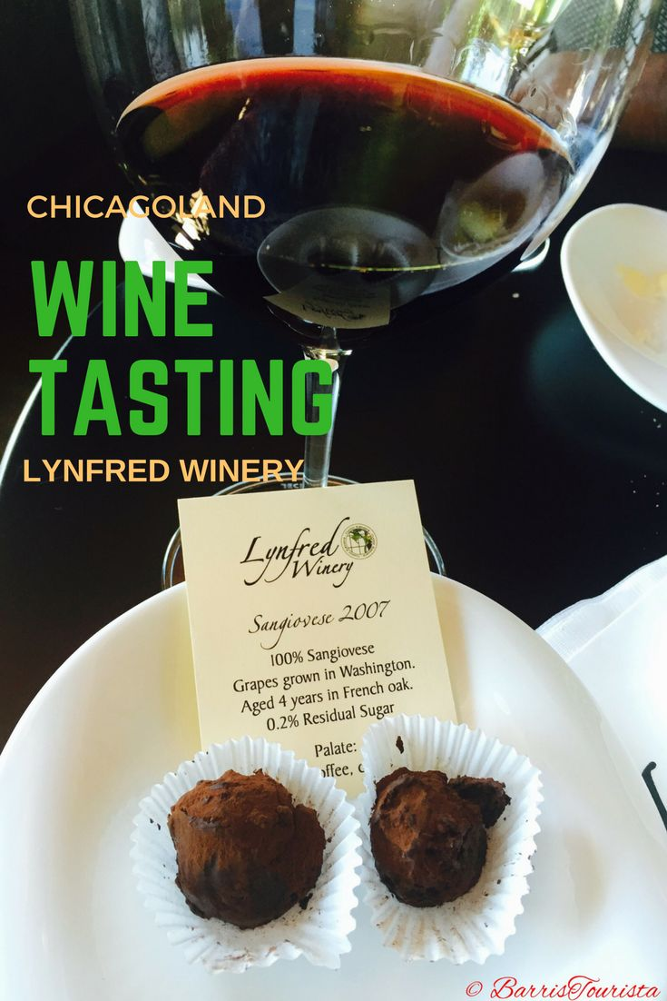 Who knew there was wine tasting outside of Chicago? Lynfred Winery is just the spot! (c) BarrisTourista