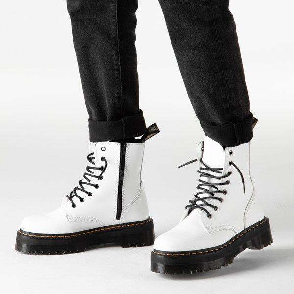 dr martens jadon boot white