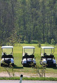 Voiturette de golf — Wikipédia