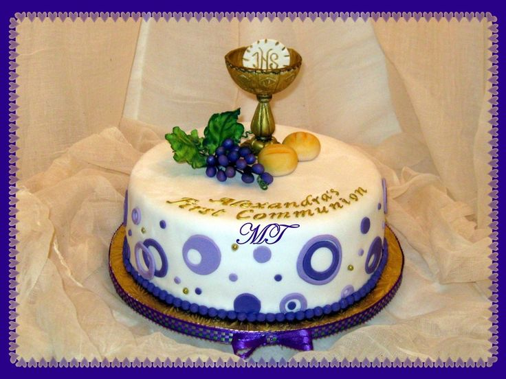 111 best first communion cakes images on pinterest first for 1st holy communion cake decoration ideas