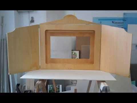 Tutorial para la construccion de un Kamishibai (teatro de papel) para láminas tamaño A2