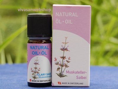Clary sage oil is often called a women oil. The oil is used against melancholy and midlife crisis. Clary sage oil relaxes cramps, nervous tensions and is efficient against irregular menstrual cycles.