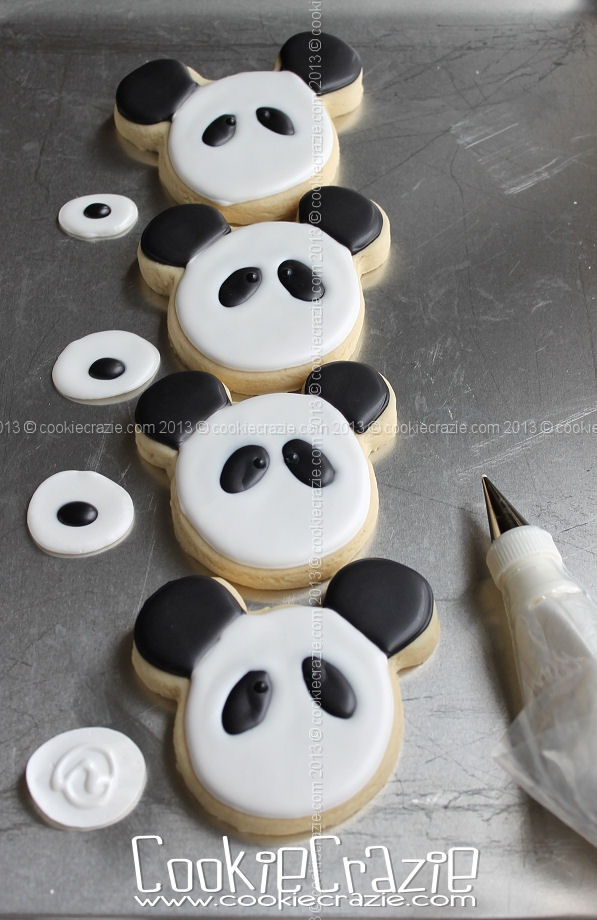 CookieCrazie: Panda Bear Cookies (Tutorial)