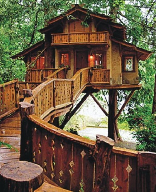i want to live in a pete nelson designed treehouse - Treehouse Masters Irish Cottage
