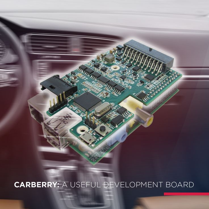 Carberry aims to be a shield for Raspberry Pi microcomputers. Carberry represents the link between car electronics and Raspberry Pi, which allows the development of end-user applications, such as media centers, vehicle diagnostics, data logging, fleet management, tracking, blackboxes, burglar alarms, carputing, internet, and much more.