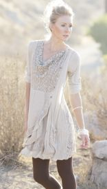 Rodeo Chic cowgirl tops with lace and crochet detail perfect for traveling or you can wear the tops separately
