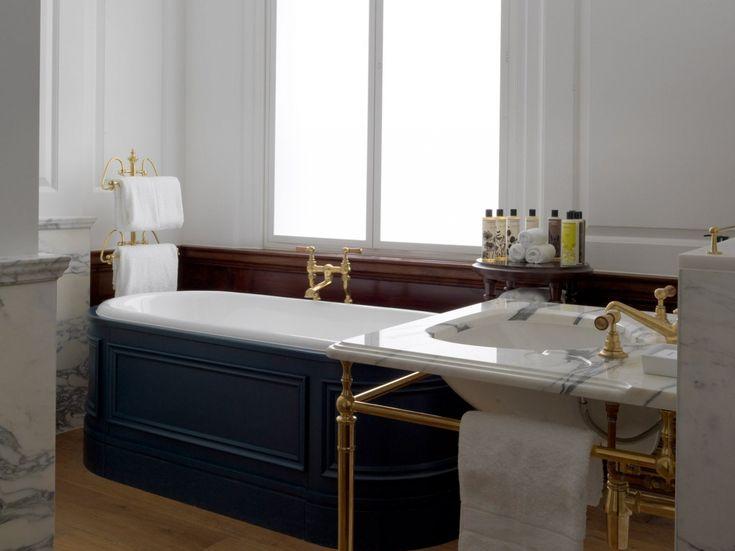 Die besten 25+ Gusseisen badewanne Ideen auf Pinterest - badezimmer english