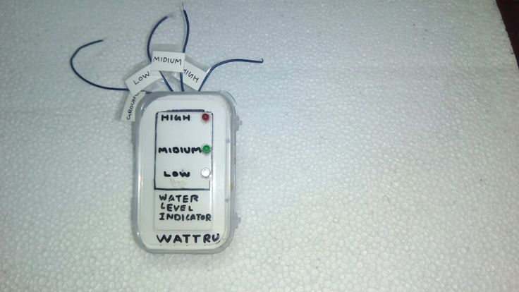 Water level indicator for home application