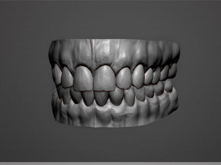 The Last of Us Characters Sculpt Teeth