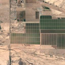 Mapa de Caborca, Sonora, Caborca en México - imagen de satelite / satelital, coordenadas GPS