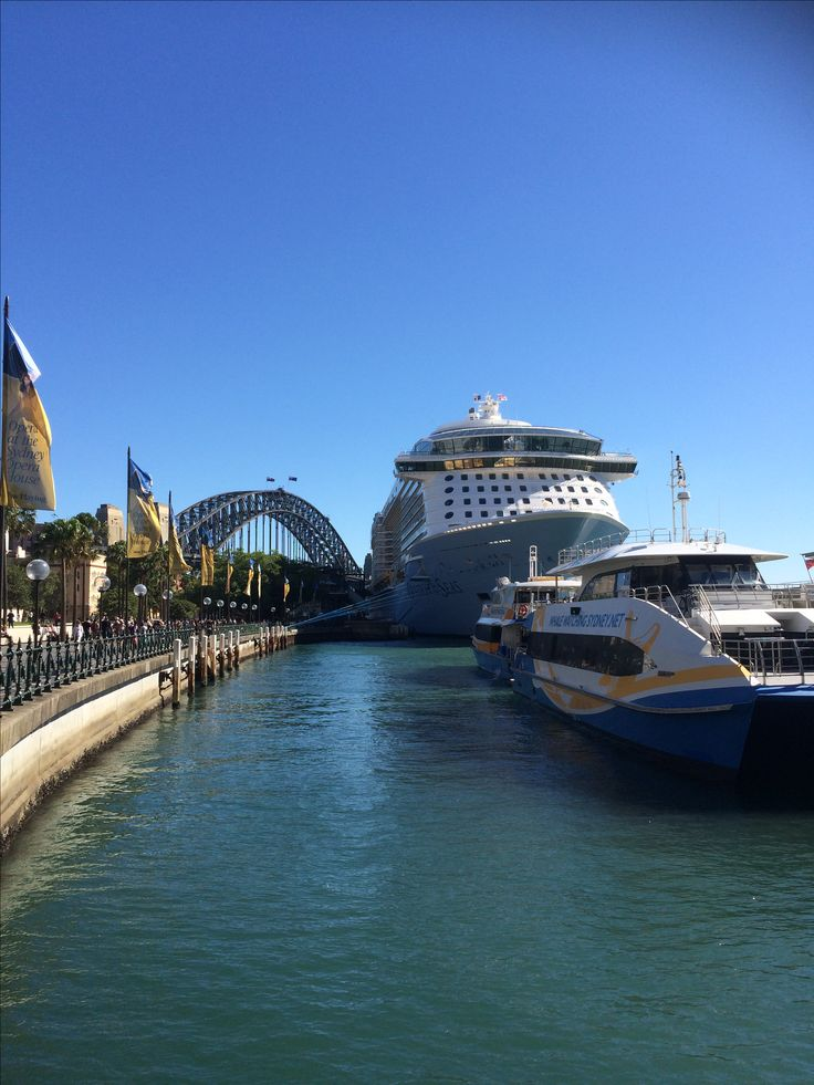 Ovation of the Seas - Circular Quay, Sydney Australia