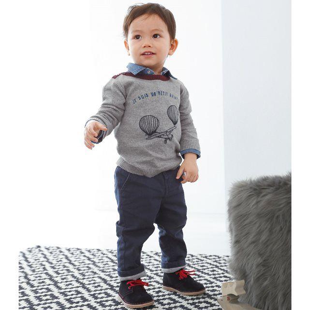 Pantalon esprit chino 1 mois-3 ans R essentiel