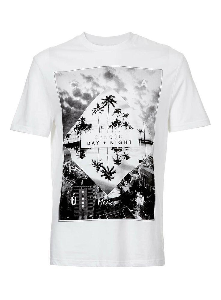 La camiseta blanco[a]