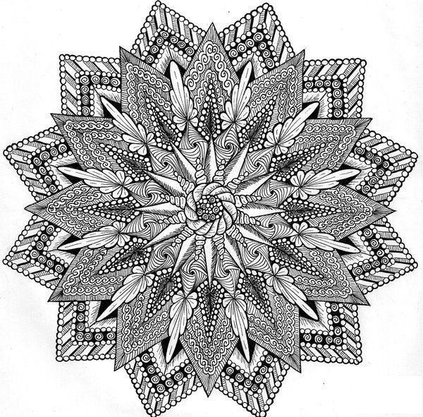 Inner Compass By JSP Create Lots Of Zentangle Mandalas