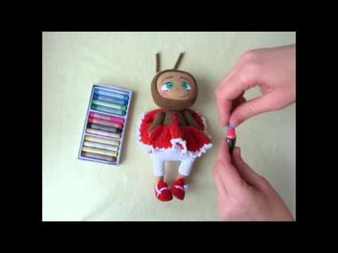 """Мастер-класс """"Куколки в костюмчиках"""" - YouTube"""