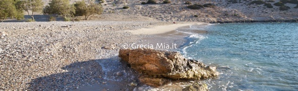 Psili Ammos beach, Schinoussa, Small Cyclades