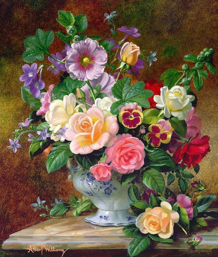 Цветочная живопись картинки