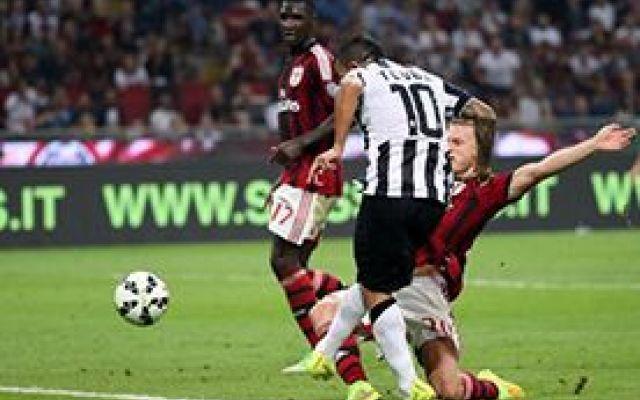 La Juventus batte il Milan con Spuer Tevez #seriea #juventus #tevez
