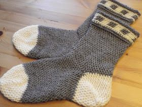 Lonemors blogg: Pjona sokker / pjona lester