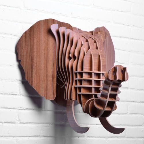 Les 25 meilleures id es concernant t te d 39 l phant sur for Decoration murale elephant