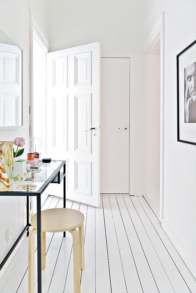 Inspiring Homes: Classics-filled White Home in Malmö | Nordic Days