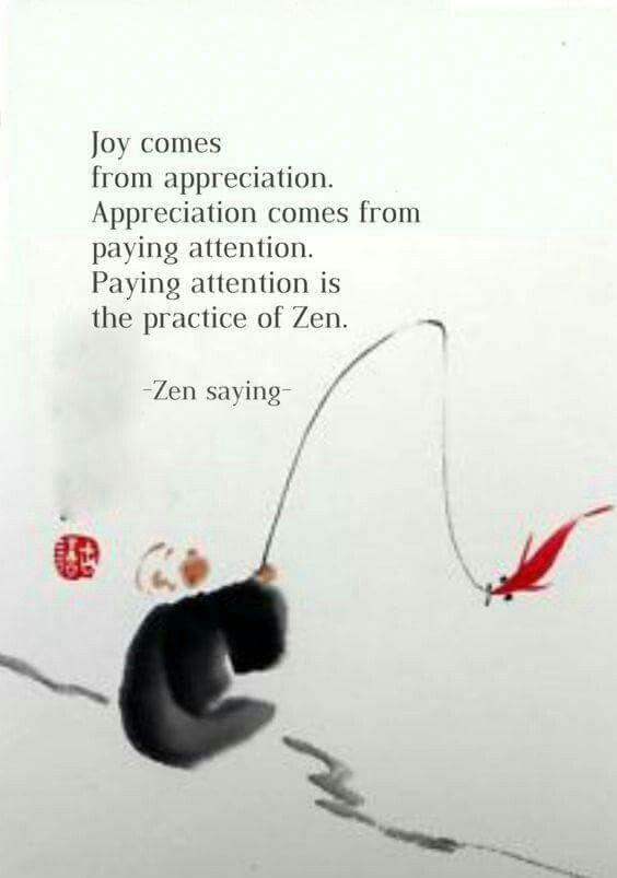 Zen saying