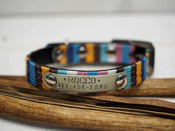 Personalized Cat Collar Cat Collar Personalized Cat Collar