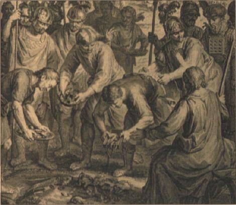 иллюстрация к библии ЧИСЛА глава 31 #библия #ветхийзaвет #Bible #иллюстрация #гравюра #картина #искусство #религия #христианство