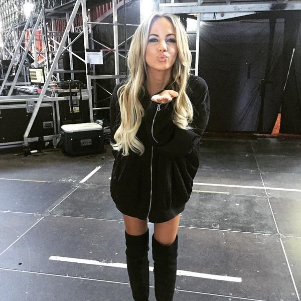 Samantha, backstage // OTRA // Sydney, Australia // 07-02-15