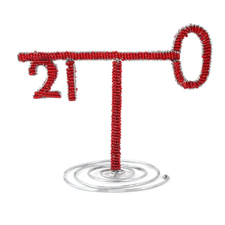 21st Key and Table Number | Stribal CafeStribal Cafe