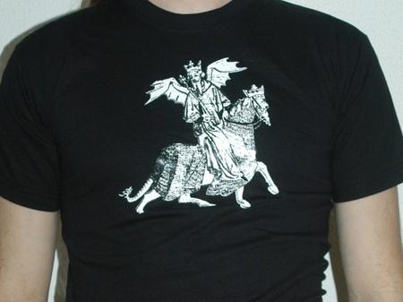 "T-skjorte one off ""King of Locusts"""
