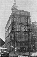 Édifice du Magasin Laliberté dans Saint-Roch en 1917