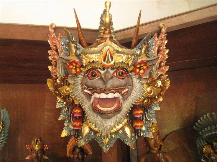 Narasimha, mask from Bali