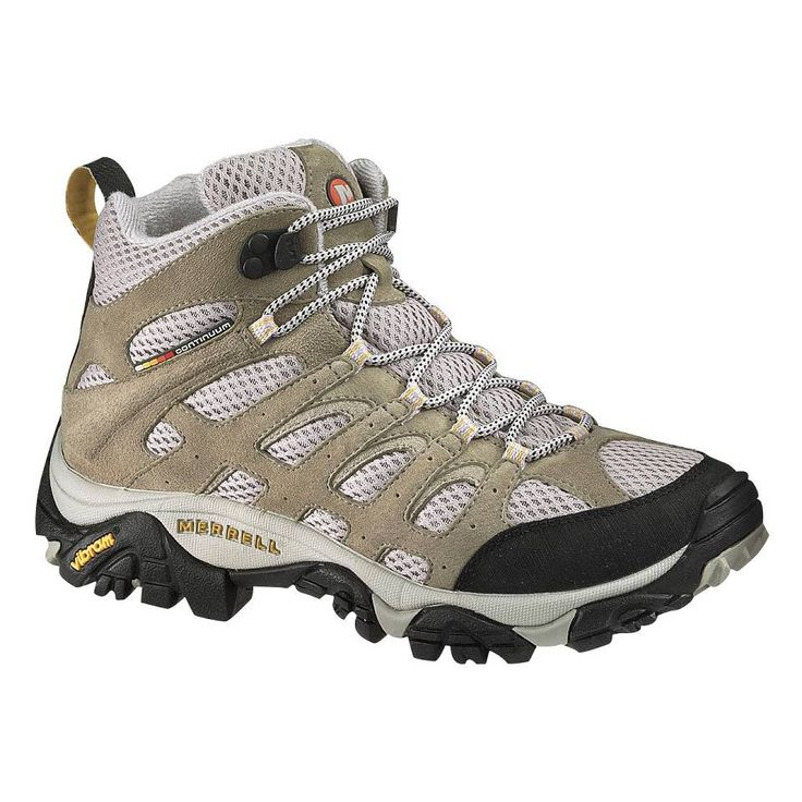 Lightweight hiking boots are essential summer footwear, and the best selling Merrell Moab Ventilator Mid Hiking Shoe for Women is certain to deliver comfort and adventure on the trail this summer. This lightweight, mid-height hiking boot offers the breathability and flexibility that you want for warm weather hiking.